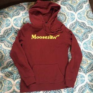 Moose Jaw Maroon Hoodie